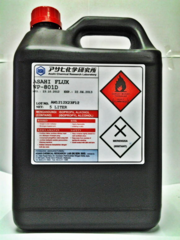 凸塊助焊劑 WP-801D